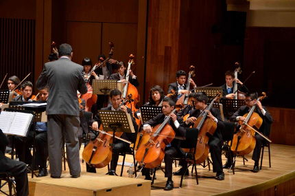 [2015] Imagina Mexico's Orchestra Performs in the USA